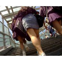 【オリジナル】ミニスカの女の子見つけたから追跡してみたVol.12