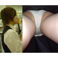 会員制サイト オリジナル逆さ撮り画像 お姉さん 生足編? バラ売り3