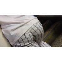 【フルHD動画】07 白パン画面迫るプリ尻娘