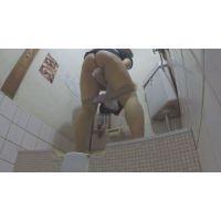 満タンの膀胱から放たれる長編の小便!音量注意の激流オシッコ盗撮映像