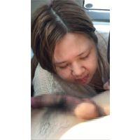 32歳人妻 屋上 車内フェラ