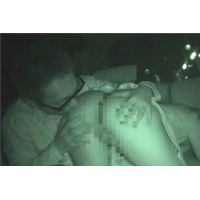 ◇深夜のカーセックスを隠し撮りカメラで赤外線撮影 04