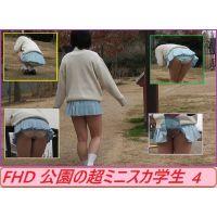 FHD 公園の超ミニスカ学生4