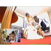 【セット】新婦のウェディングドレス試着Vol.3〜12(1、2がないのは容量の都合)