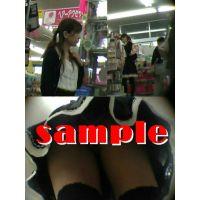 ★再販 激カワお姉さんの逆さパンチラ動画 325