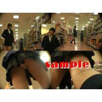 ★再販 JK風の逆さパンチラ動画 394