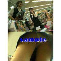 ★再販 OLお姉さんの逆さパンチラ動画 214