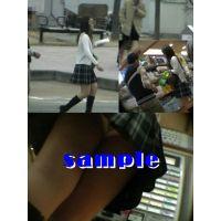 ★再販 ヒラミニ&ブーツお姉さんの逆さパンチラ動画 108