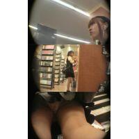 お姉さんの逆さパンチラ動画 h006