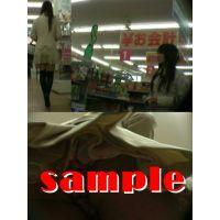 ★再販 激かわニーハイ&ヒラミニお姉さんの逆さパンチラ動画 317
