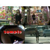 ★再販 超激カワJK風の逆さパンチラ動画+画像付き 415