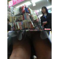 ★再販 JK風の逆さパンチラ動画 12