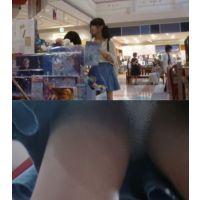 お姉さんの逆さパンチラ動画 h081
