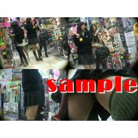 ★再販 JK風の逆さパンチラ動画 332