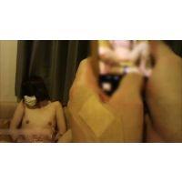 [Subjective angle] Restraint slender breasts woman in underwear