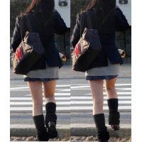 モデル美脚制服24 超ミニ美尻ルーズ編。