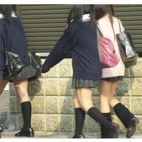 モデル美脚制服13 Pカーディガンルーズ編。