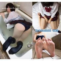 【写真】Wet&Foot Fetish 早紀乃