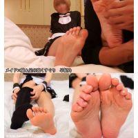 【写真&動画】メイドの脇&足の裏くすぐり 早紀乃