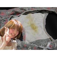 【同級生悪戯】活発でお姉さんぽい可愛い同級生の汚れた綿パンティー