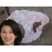 【悪戯】帰国子女の美形上司が履いていたピンクのパンティー