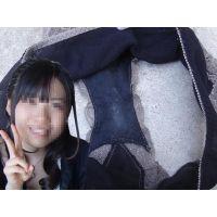 【悪戯】大学の中でもかなりお嬢様な友達が履いていたパンティーのクロッチは薄っすらとオリモノ染みが...