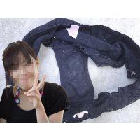 【悪戯】真面目な友達の奥さんが泊まりに来た時に履いていたパンティーはオシッコ臭がたっぷり...