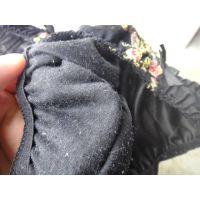【悪戯】友達の家で飲み会した時に隙を見付けて洗ってない黒いパンティーを持ちだした...