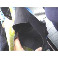 【悪戯】近所のカワイイお姉さんはラインが出ないシームレスの黒いパンティー...