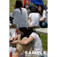 初夏の透けブラ2011GW 女子大生編 パート1