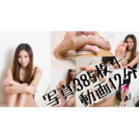 Barefoot pictures and movie of Madoka Hitomi