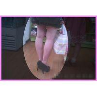 動画 エッチな脚とパンチラ撮影パート2