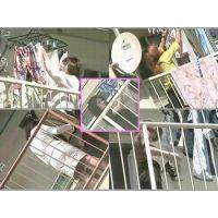 パンティやブラを干す団地のヤンママ達の動画!再編集にて公開です