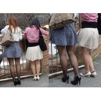 ☆薄黒ストと生脚の女の子☆
