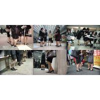 街撮り美脚画像 リクルートスーツOL OP-06