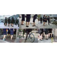 街撮り美脚画像 制服OL OP-01