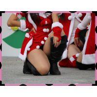 ミニスカサンタちらちらセクシーダンス(その1)