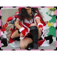 ミニスカサンタちらちらセクシーダンス(その2)