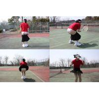 テニススコートの中は天国無料サンプル