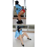 婦警 女性警察官 夏服 目隠ししてます6