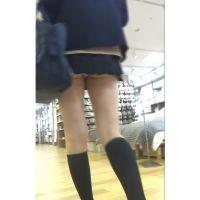 【低視線追跡動画�】食い込みJKショッピング