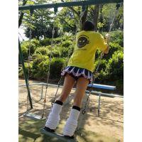 【動画】チア風JK★ブランコでスカートひらひら