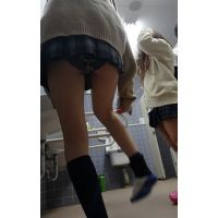『思春期エロ撮り』校内で怪しい撮影JK