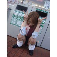 【親友チラ撮り】放課後制服プライベート写真