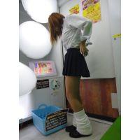 【イマドキの女子高生】ゲーセン・街撮り写真☆(ロリ系)
