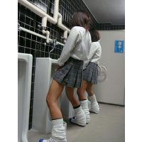 『聖域潜入』女子高トイレの休み時間