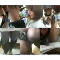 【セット販売】美脚ブーツ美人のパンチラ・・