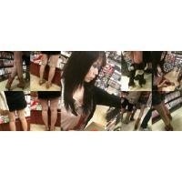 【動画】綺麗なお姉さんの美脚を・・・
