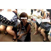 【動画】美脚女子大生とチラリズム・・