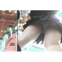 【女子高生】街パンチラ動画【選定】No.4